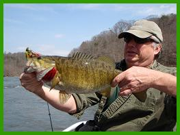 Guided fishing in Asheville North Carolina.  WNC's best float fishing guide service, whitewatersportsman.com.