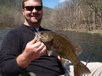 Guided fishing in Asheville, North Carolina.